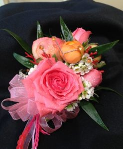 Pink & Orange Corsage