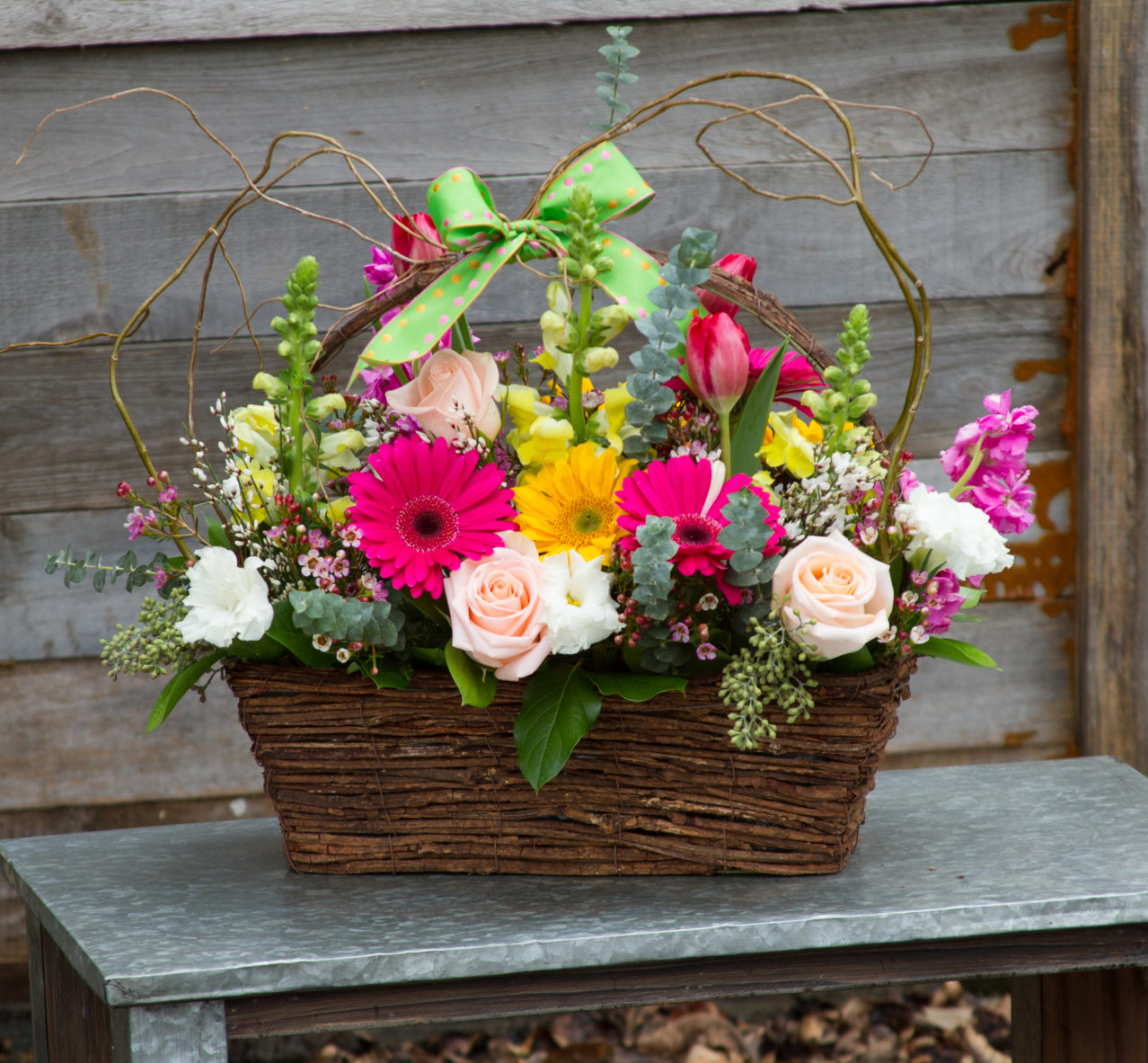Spring Symphony Basket 31002 Holliday Flowers Events